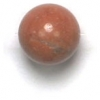 Semi-Precious 8mm Round Umber Onyx